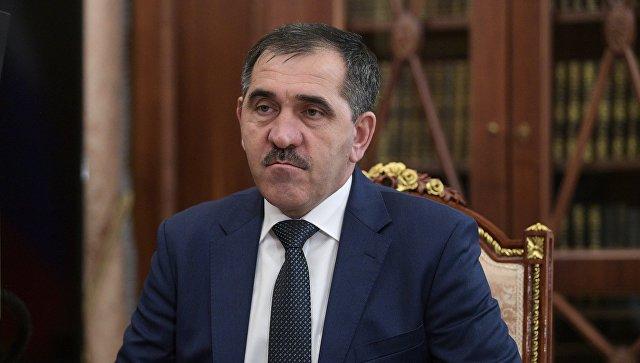 Напавшие на пост ДПС в Ингушетии боевики были связаны с ИГ*, заявил Евкуров