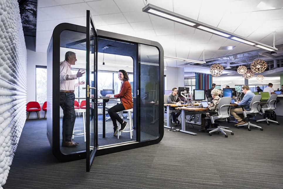 Модуль для приватного общения в офисе