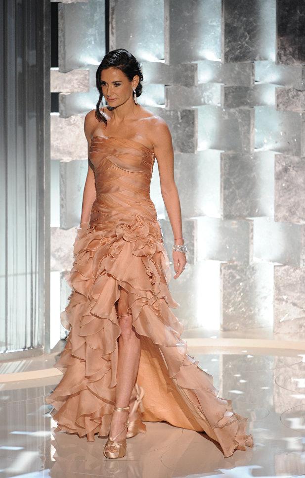 Актриса Деми Мур на 82-й церемонии вручения премии Оскар, 2010 год