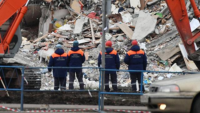Поисковые работы наместе обрушения дома вИжевске возобновлены