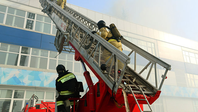 ВЕкатеринбурге эвакуировали 18 человек из-за пожара вмногоэтажке
