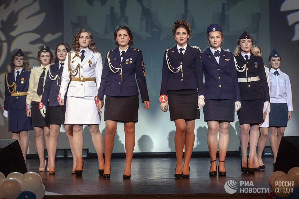 Участницы конкурса красоты Краса и честь Санкт-Петербурга
