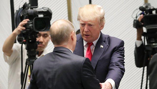 Песков: Путин выразил непонимание обвинений США вовмешательстве ввыборы