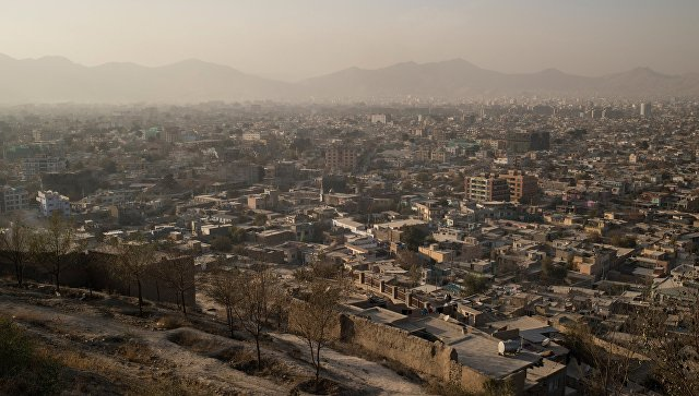 Вид на Кабул. Архивное фото