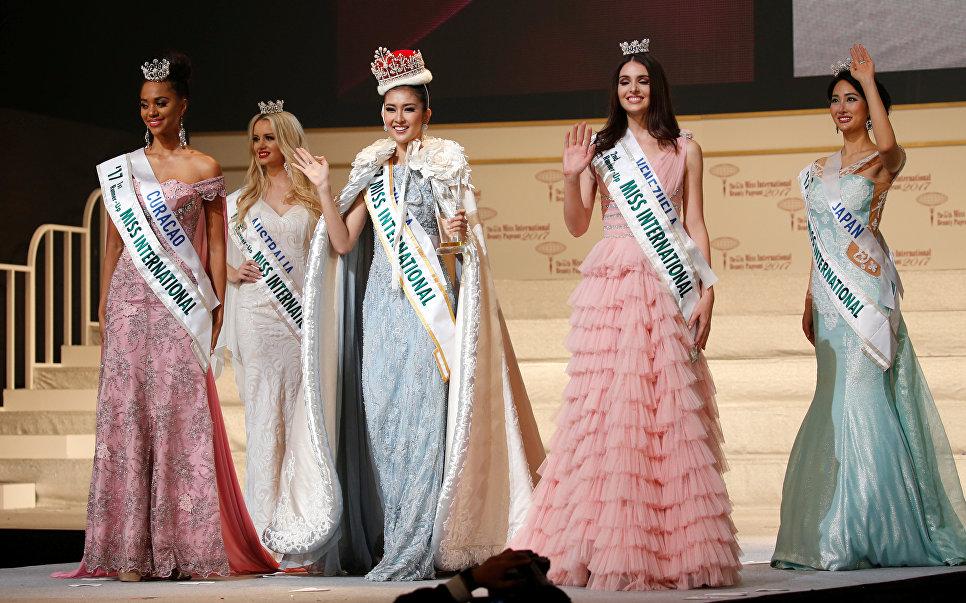 Победительницы конкурса красоты Miss International 2017