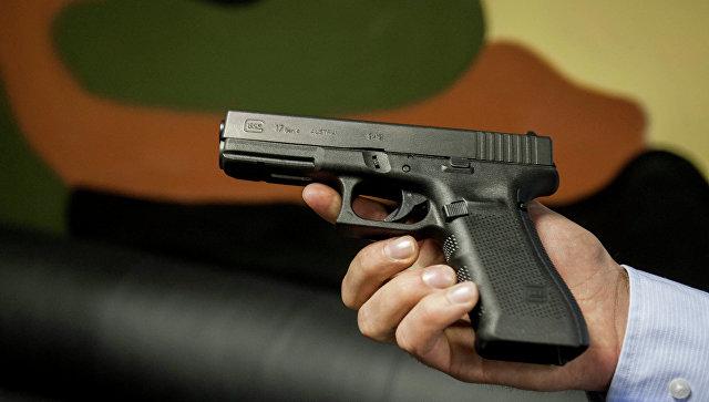 Австрийский пистолет Глок. Архивное фото