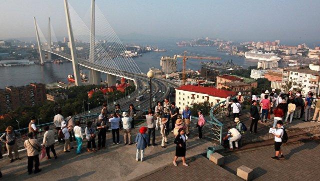 Вид Владивостока. Архивное фото