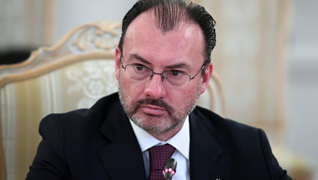 Министр иностранных дел Мексики Луис Видегарай Касо. Архивное фото