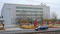 """Штаб-квартира радиовещательной организации Радио """"Свободная Европа""""/Радио """"Свобода"""" в Праге. Архивное фото"""