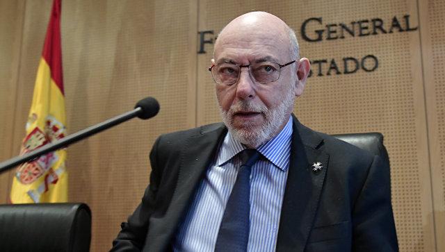 Генпрокурор Испании Хосе Мануэль Маса. Архивное фото