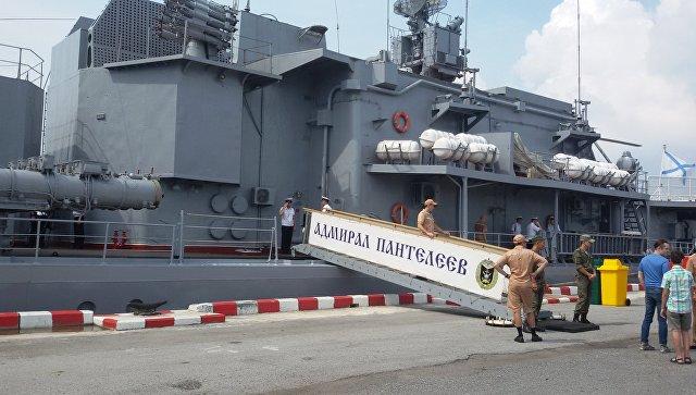 На параде в честь 50-летия АСЕАН колонну возглавит российский корабль