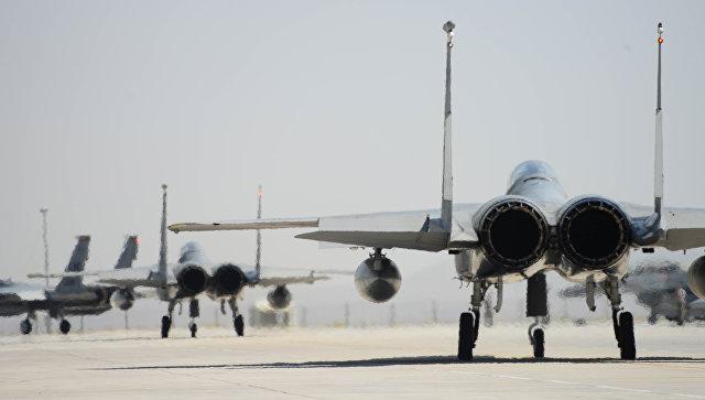 ВЯпонии разбился американский истребитель