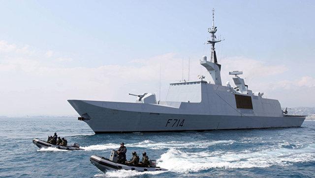 Французский фрегат класса LaFayette вошел вЧерное море