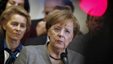 Лидер ХДС, канцлер Германии Ангела Меркель. Архивное фото