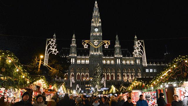 Рождественская ярмарка в Вене