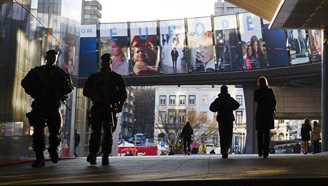Символика ЕС в Брюсселе
