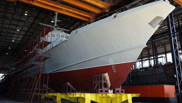 ВМФ России рассчитывает получить 18 малых ракетных кораблей проекта 22800