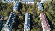 Пятиэтажные жилые дома в районе Мневники в Москве, включенные в программу реновации