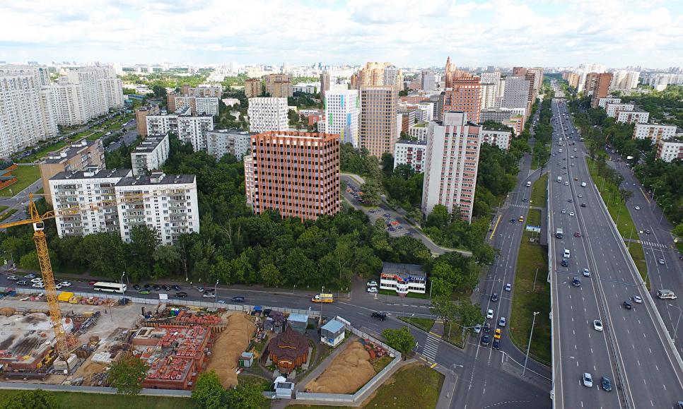 Концепция площадки реновации в районе Кузьминки от бюро Speech