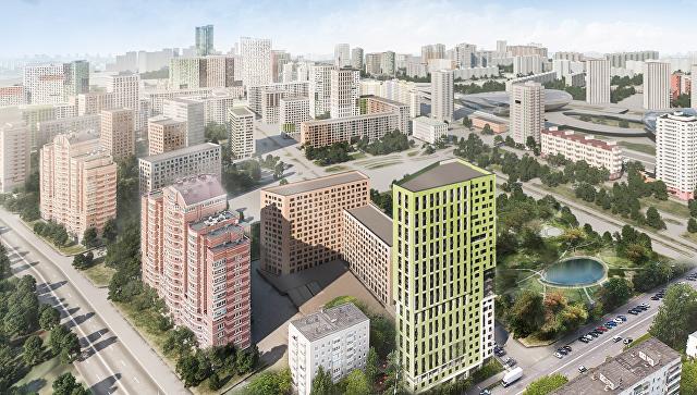 Концепция площадки реновации в районе Хорошево-Мневники от бюро А Проект-К