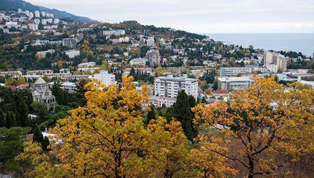 Вид на город Ялта. Архивное фото