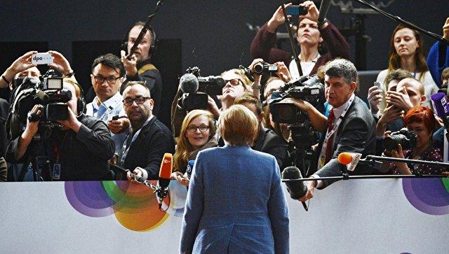 Меркель: Восточное партнерство тесно связано сбезопасностьюЕС