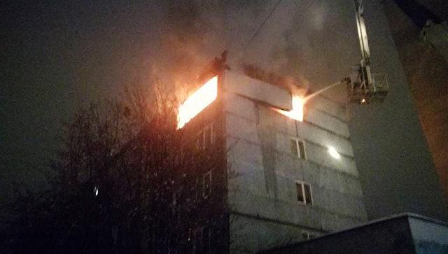 ВМурманске впятиэтажном доме произошел взрыв газа