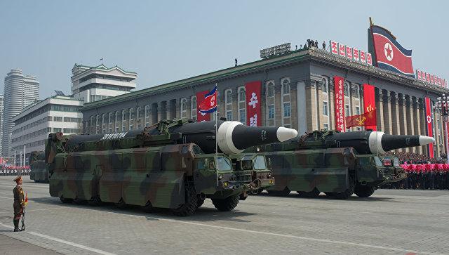 Военная техника в КНДР. Архивное фото
