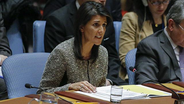 Посол США в ООН Никки Хейли. Архивное фото