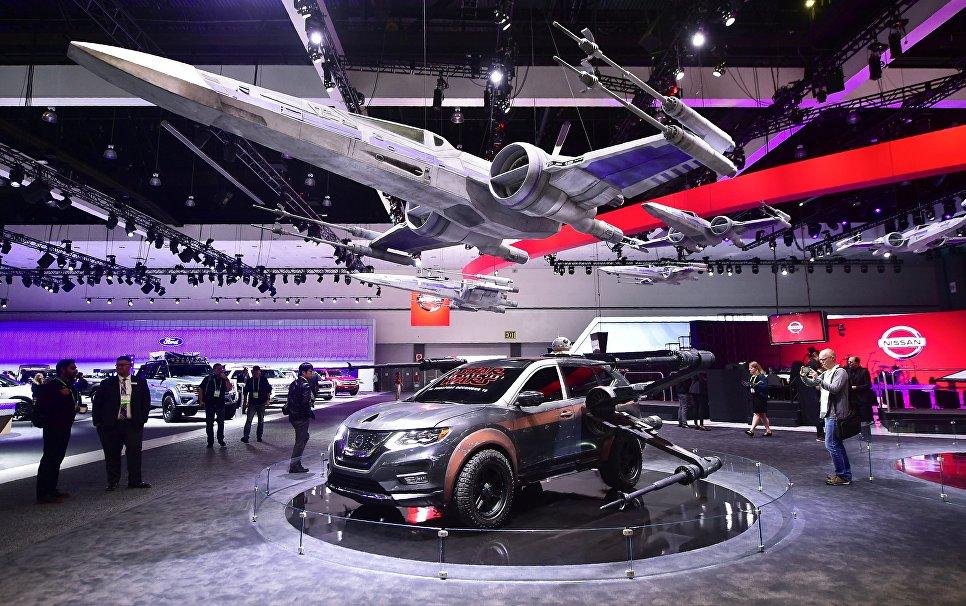 Nissan Rogue на автосалоне в Лос-Анджелесе