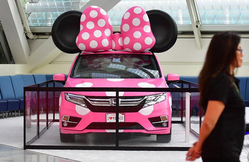 Honda Odyssey на автосалоне в Лос-Анджелесе