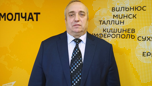 Первый заместитель председателя комитета по обороне и безопасности Совета Федерации Франц Клинцевич. Архивное фото