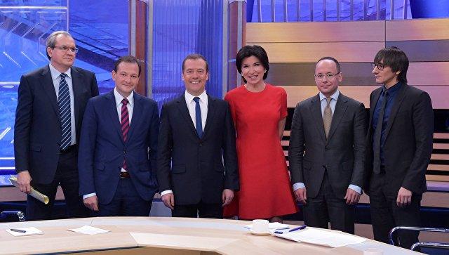 Экономика Российской Федерации вышла изрецессии— Медведев