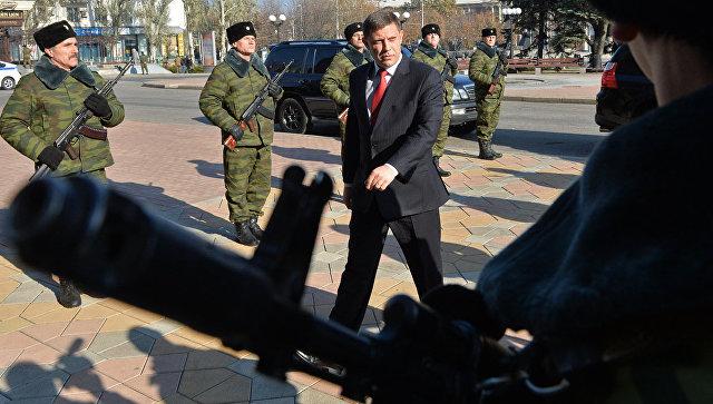 ВЛНР сообщили  оподготовке диверсантами покушения наЗахарченко