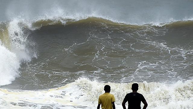 Шторм на Шри-Ланке. Архивное фото