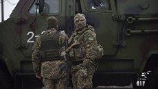 Украинские военнослужащие в Авдеевке, Украина. Архивное фото