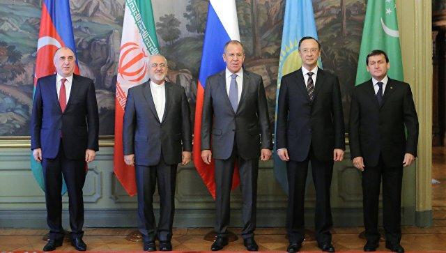 Текст конвенции по вопросу о статусе Каспия фактически готов, заявил Лавров