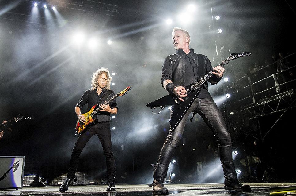 Американская группа Metallica