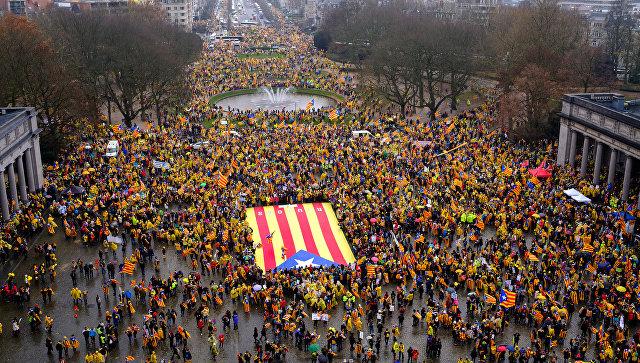 Гражданская гвардия отпустила высокопоставленного каталонского политика