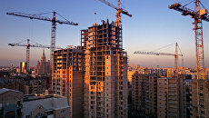 Строительство нового жилья. Архивное фото