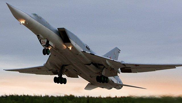 Бомбардировщик Ту-22М3. Архивное фото