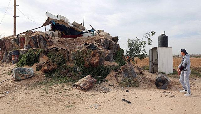 Израиль атаковал позиции ХАМАС в секторе Газа в ответ на ракетный обстрел