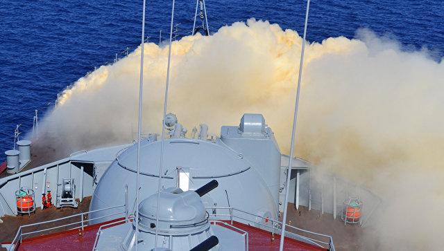Ракетный крейсер. Архивное фото