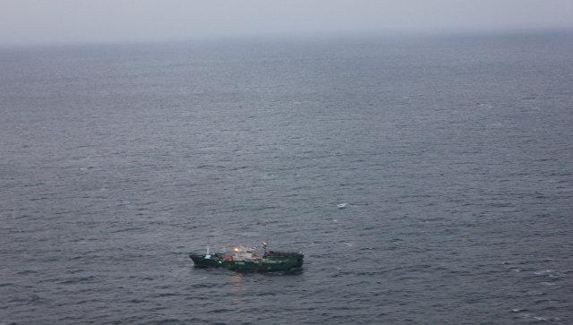 Шхуна в Японском море. Архивное фото