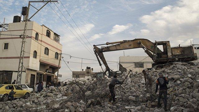 ВВС Израиля атаковали лагерь ХАМАС