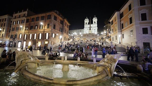 Города мира. Рим. Архивное фото