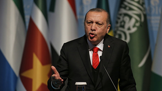 Эрдоган: Турецкая армия продолжит операцию в Африне
