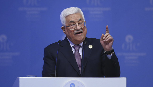 Палестинский лидер прибудет в столицу вконце зимы