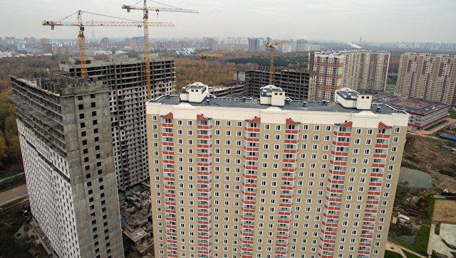 Строительство новых жилых кварталов. Архивное фото