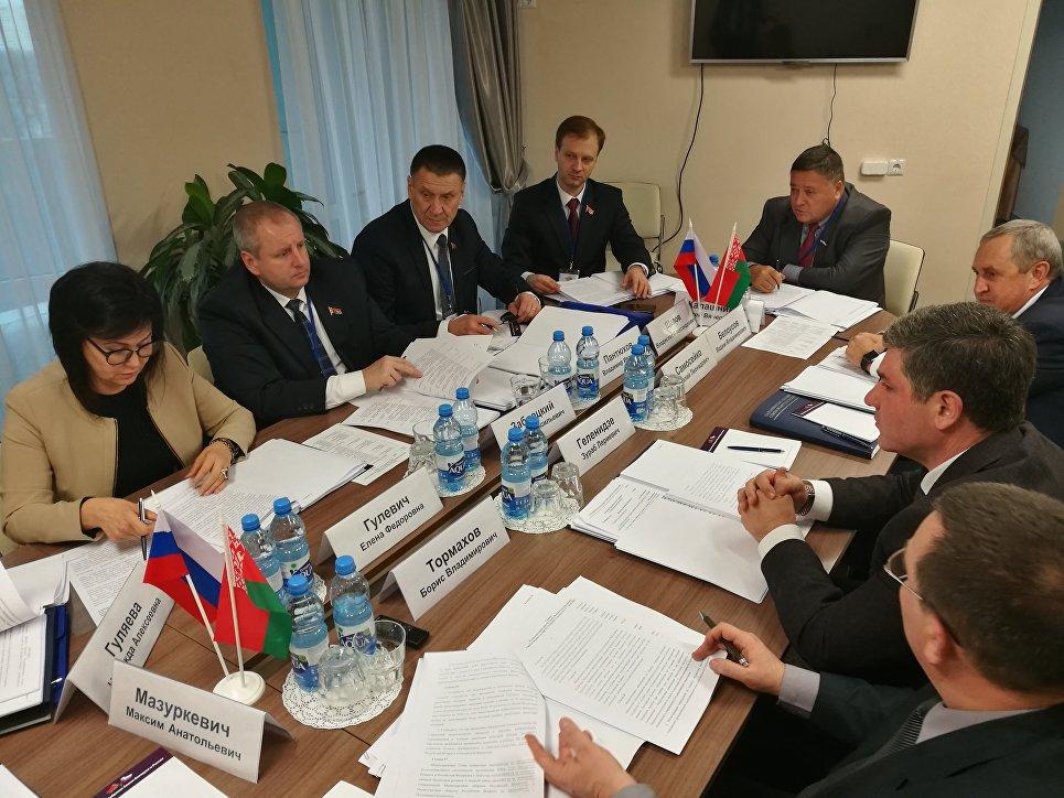 Заседании Комиссии Парламентского Собрания по экономической политике
